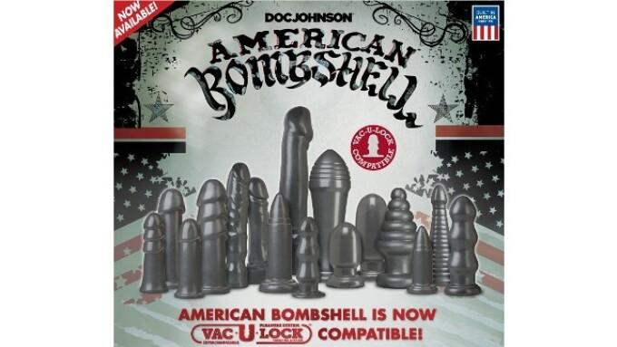 Doc Johnson Adds American Bombshell in Cherry Bomb, Vac-U-Lock