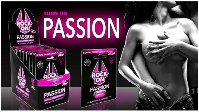 Rock On Launches 'Passion' Sex Enhancer for Women