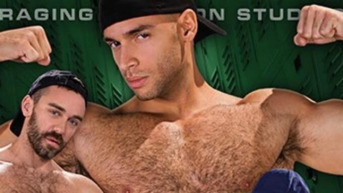Raging Stallion's 'Beef Squad' Invades the Locker Room