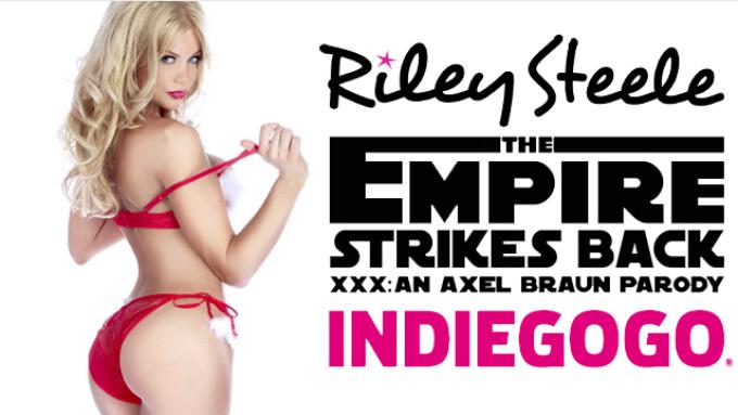XBIZ Best Actress Riley Steele to Film 1st Anal for 'Empire Strikes Back XXX'