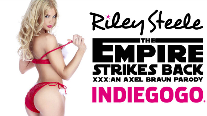 XBIZ Best Actress Riley Steele to Film 1st Anal for 'Empire Strikes Back XXX'