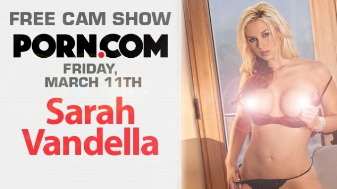 Sarah Vandella in Free Cam Show This Friday on Porn.com
