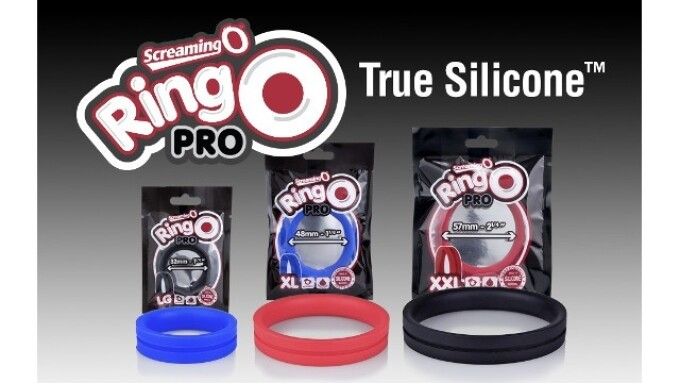 The Screaming O Debuts True Silicone RingO Pro C-Rings
