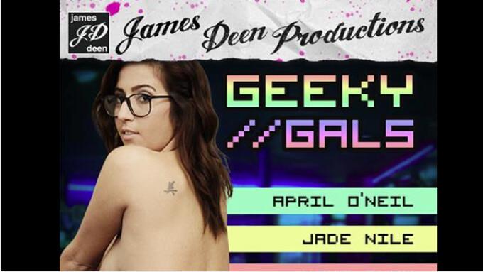 Girlfriends Films, James Deen Productions Unveil 'Geeky Gals'