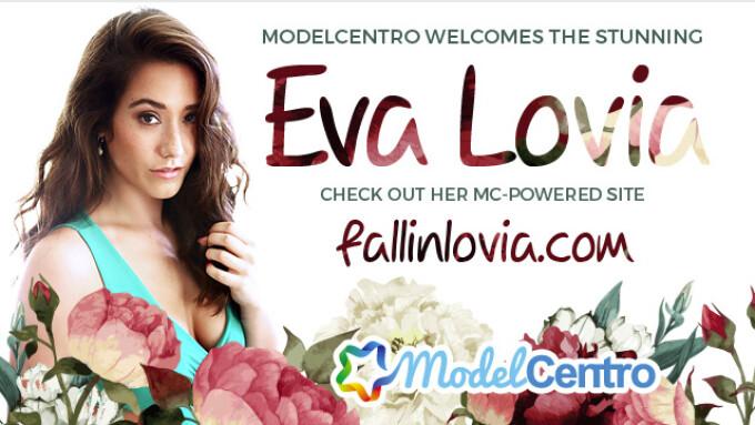 ModelCentro Launches Eva Lovia's Site