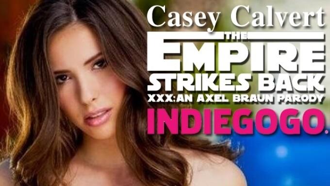 Casey Calvert Joins 'The Empire Strikes Back XXX' as Tendra Calrissian