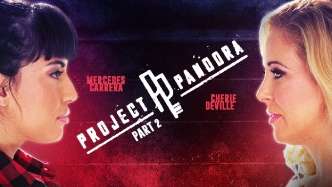 Girlsway Releases 'Project Pandora, Part 2'