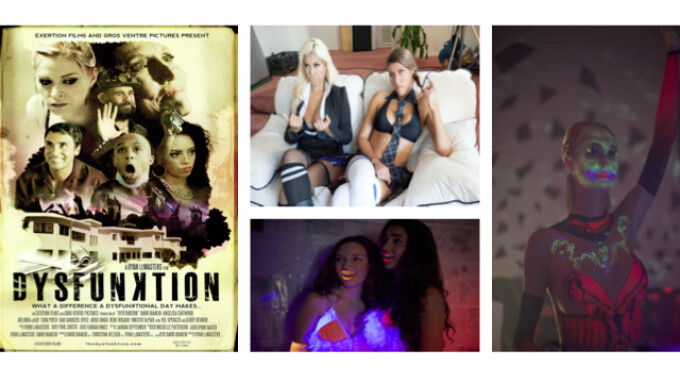 Adam & Eve, Exertion Films Unveil 'Dysfunktion'