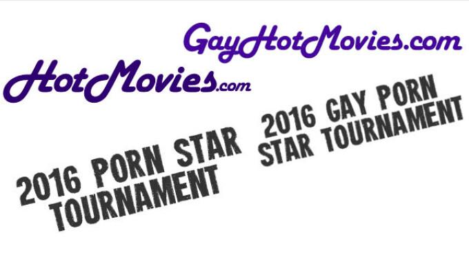 HotMovies, GayHotMovies Porn Star Tournies Enter Round 3