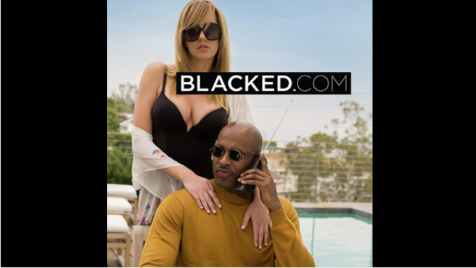 Blacked Premieres Exclusive Brett Rossi Scene
