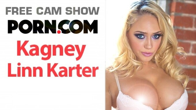 Kagney Linn Karter in Free Cam Show, Friday on Porn.com