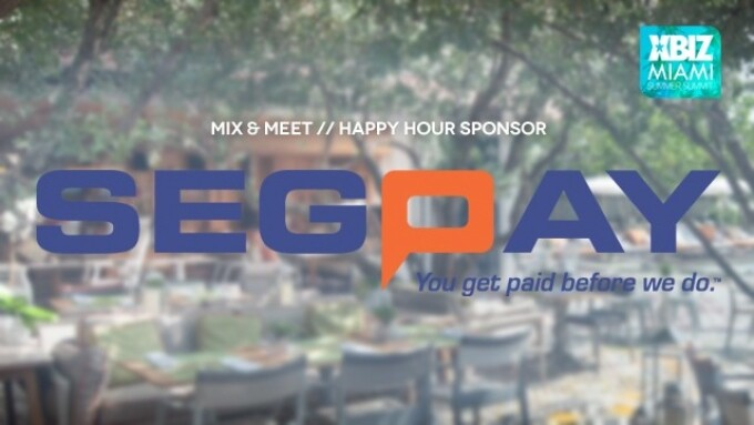 SegPay Hosts Mix & Meet Happy Hour at XBIZ Miami