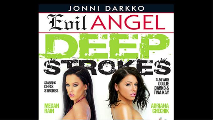 Evil Angel Releases Jonni Darkko's 'Deep Strokes'