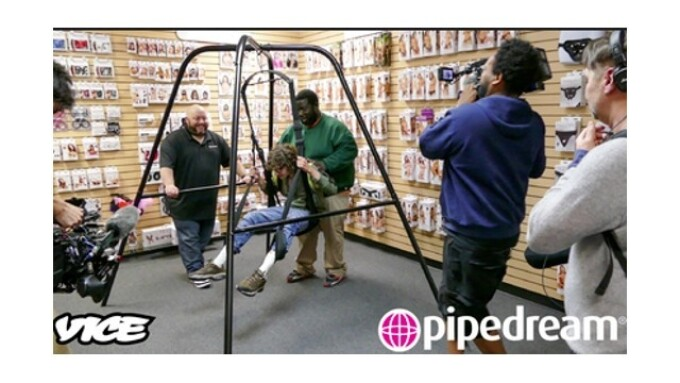 VICE Media Visits Pipedream, Films Show Pilot