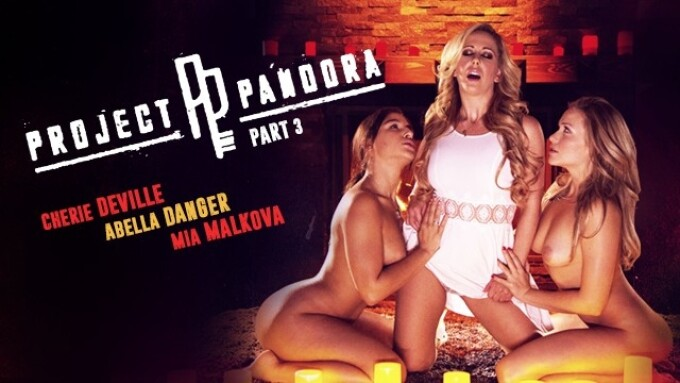 Girlsway Releases Part 3 of 'Project Pandora'