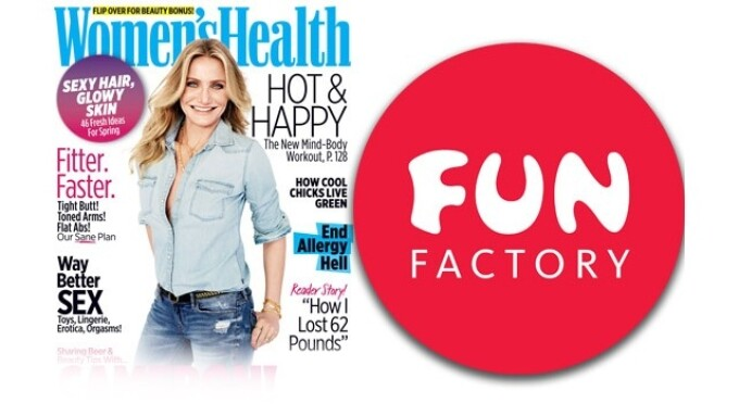 Fun Factory Bi Stronic Fusion Featured in April Women's Health