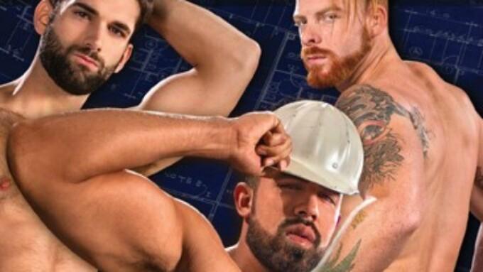 Raging Stallion's Construction Site Sex Fest 'Erect This!' Debuts