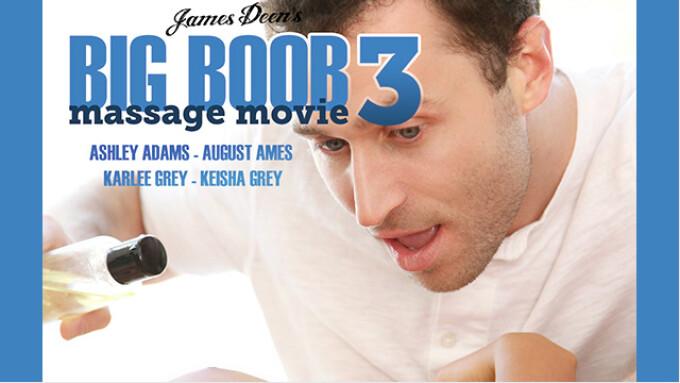 James Deen Productions Debuts 'Big Boob Massage Movie 3'
