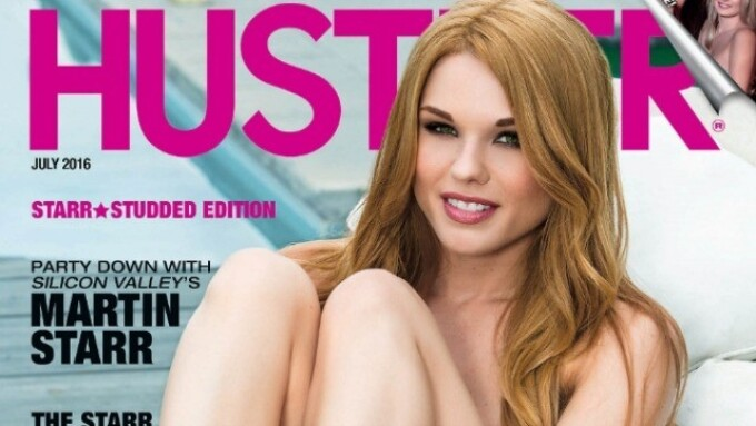 Jayme Langford, Natasha and Natalia Starr Featured in July's Hustler