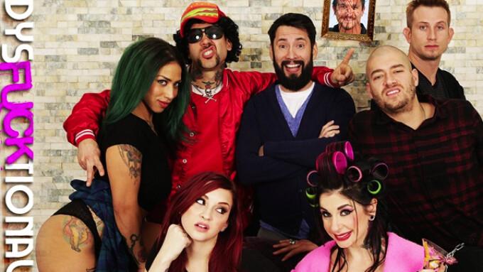 BurningAngel Unveils 'Dysfucktional Family Reunion'