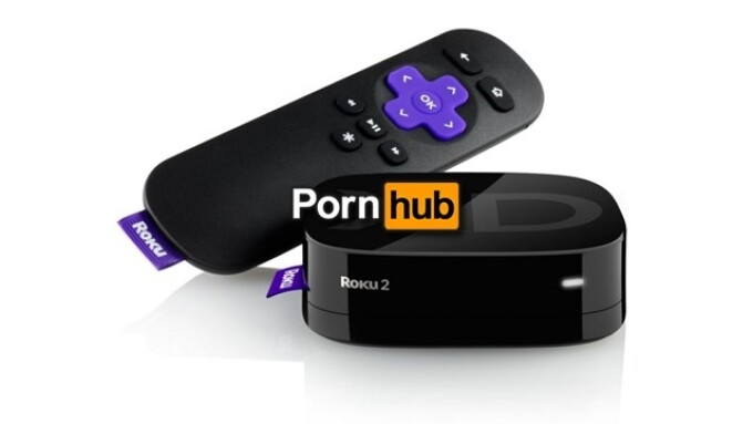 Pornhub Offers Roku Video App