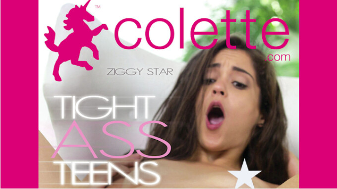 Adult Source Media Unveils Colette's 'Tight Ass Teens'