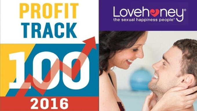 Lovehoney Ranked Among Top 100 Fastest Growing British Companies