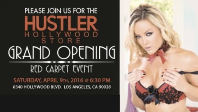 Hustler Hollywood Grand Opening Event Is Saturday