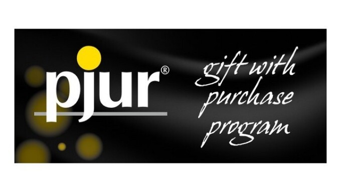pjur Launches Gift With Purchase Promo