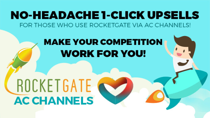 AdultCentro Channels Announces RocketGate Integration