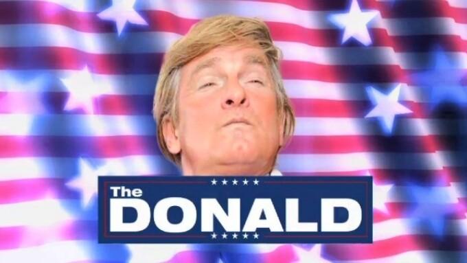 Hustler's 'The Donald' Enjoying Mainstream Media Frenzy, Brisk Sales