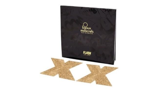 Bijoux Indiscrets Releases Flash Cross Gold Pasties