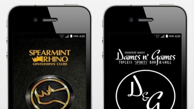 Spearmint Rhino Debuts 2 New Mobile Apps