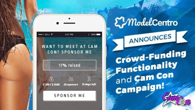 ModelCentro Offers Crowd-Funding Functionality for CamCon Campaign