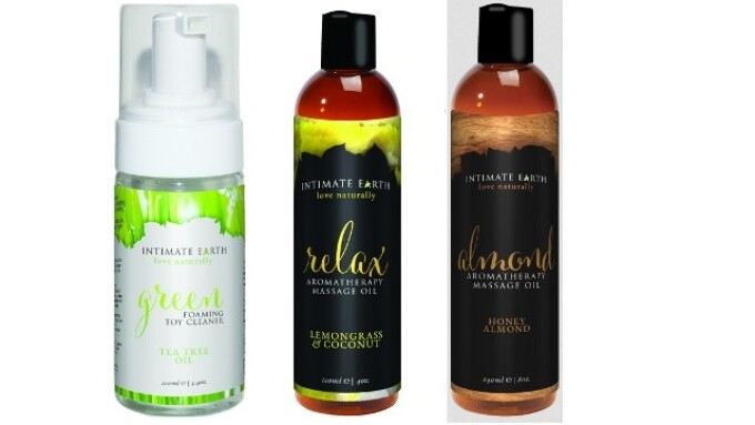 Intimate Organics Rebrands as Intimate Earth; Available at Eropartner