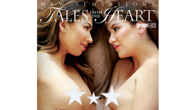 New Sensations Releases 'Lesbian Romance 3'