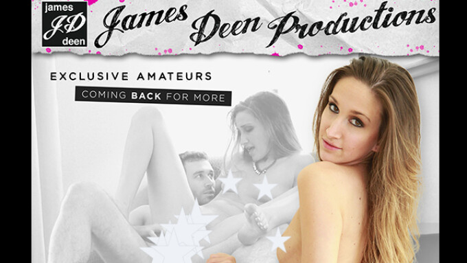 'Amateur Girls Cum Again' in New James Deen Title
