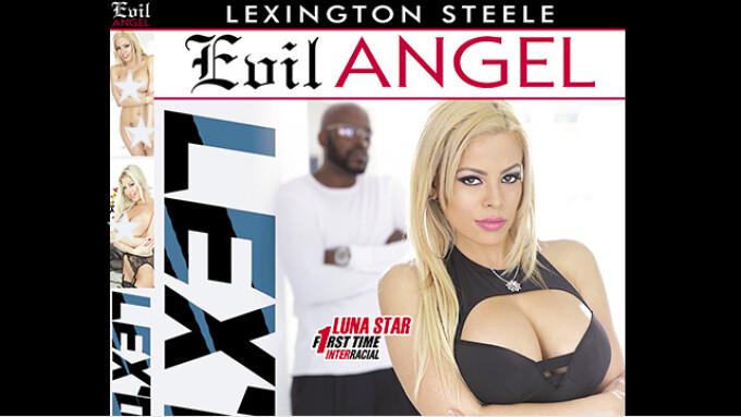 Evil Angel, Lexington Steele Announce 'Lex'd'