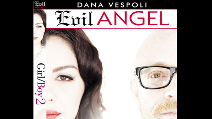 Evil Angel Debuts Dana Vespoli's 'Girl/Boy 2'