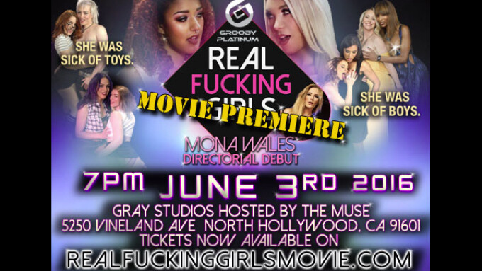 Grooby to Screen 'Real Fucking Girls' on June 3 in NoHo