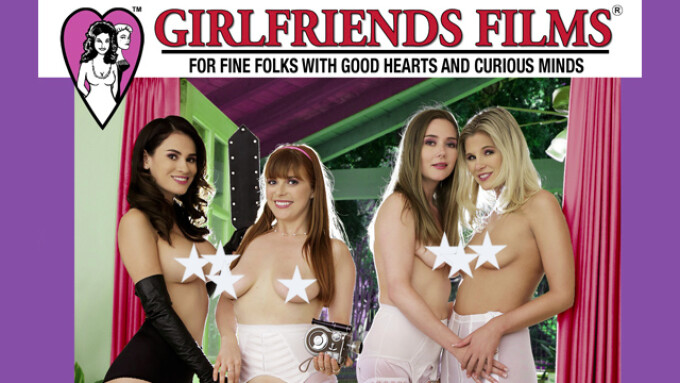 Girlfriends Films Unveils 'Lesbian Triangles 34'