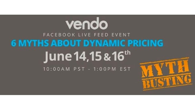 Vendo to Host 3-Part Facebook Live Series on Dynamic Pricing