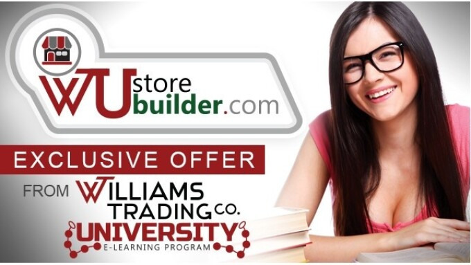 Williams Trading University Adds Store Builder