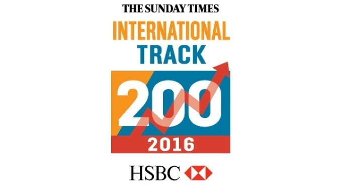 Lovehoney Ranked 51st Fastest Growing International Company by The Sunday Times