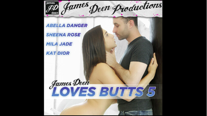 'James Deen Loves Butts 5' Released