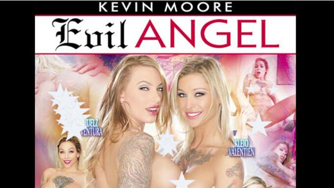 Kleio Valentien Featured in Evil Angel's 'Inked Angels 6'