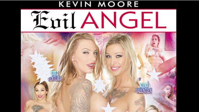 Kleio Valentien Featured in Evil Angel's 'Inked Angels 6'