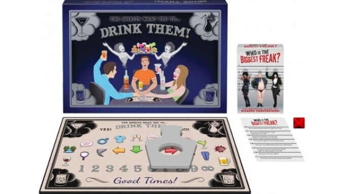 Kheper Games Releases 2 New Drinking Games
