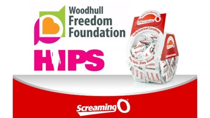 Screaming O Donates 80K Condoms to HIPS