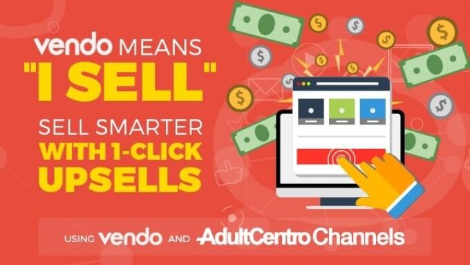 AdultCentro Channels Integrates Vendo Services